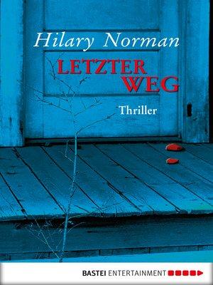 cover image of Letzter Weg