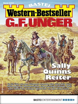 cover image of G. F. Unger Western-Bestseller 2452--Western