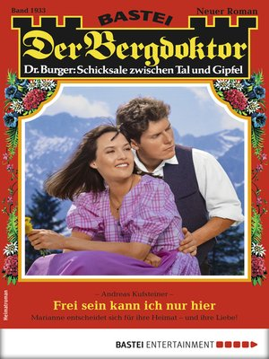 cover image of Der Bergdoktor 1933--Heimatroman