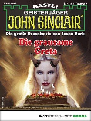 cover image of John Sinclair 2192--Horror-Serie