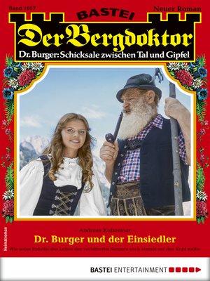 cover image of Der Bergdoktor 1957--Heimatroman