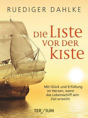 cover image of Die Liste vor der Kiste