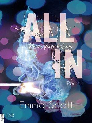 cover image of All in--Zwei Versprechen