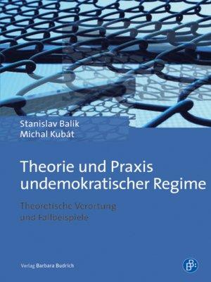 cover image of Undemokratische Regime