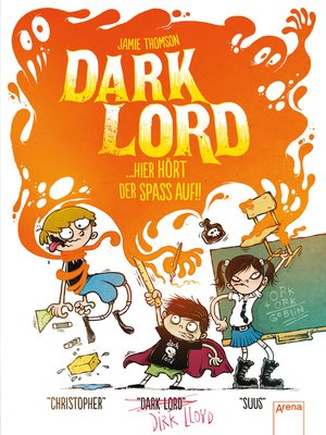 cover image of Dark Lord (4). Hier hört der Spaß auf!!
