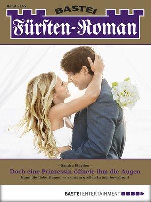 cover image of Fürsten-Roman--Folge 2465