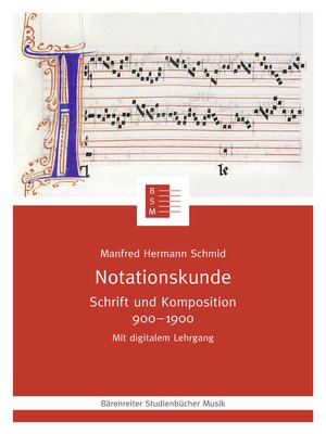 cover image of Notationskunde