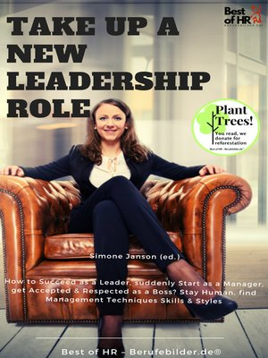 cover image of Take up a new leadership role