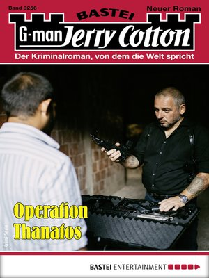 cover image of Jerry Cotton 3256--Krimi-Serie
