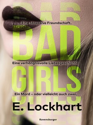 cover image of Bad Girls