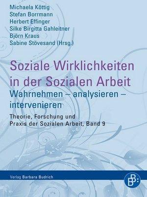 cover image of Soziale Wirklichkeiten in der Sozialen Arbeit