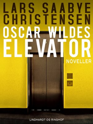 cover image of Oscar Wildes elevator