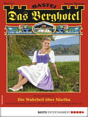 cover image of Das Berghotel 174--Heimatroman