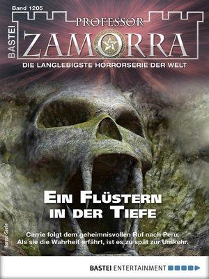 cover image of Professor Zamorra 1205--Horror-Serie