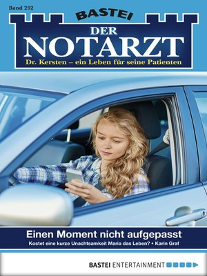 cover image of Der Notarzt--Folge 292