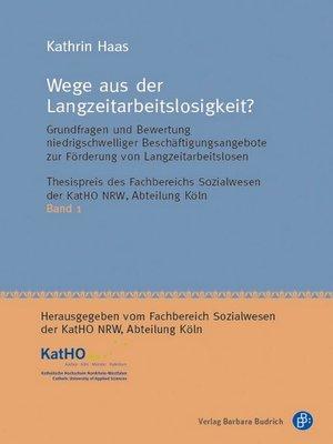 cover image of Wege aus der Langzeitarbeitslosigkeit?