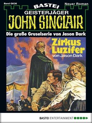 cover image of John Sinclair Gespensterkrimi--Folge 36