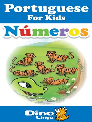 cover image of Portuguese for kids - Numbers storybook