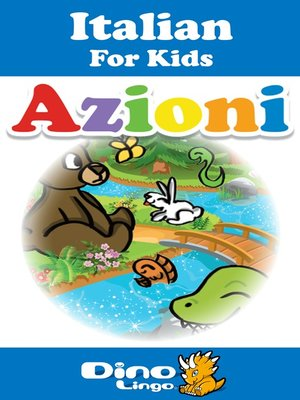 cover image of Italian for kids - Verbs storybook