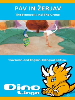cover image of Pav in žerjav / The Peacock And The Crane