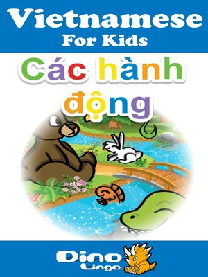 cover image of Vietnamese for kids - Verbs storybook