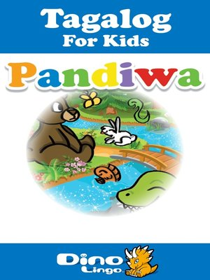 cover image of Tagalog for kids - Verbs storybook