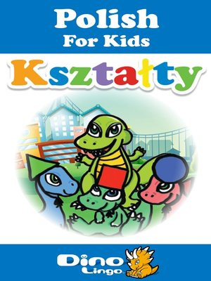 cover image of Polish for kids - Shapes storybook