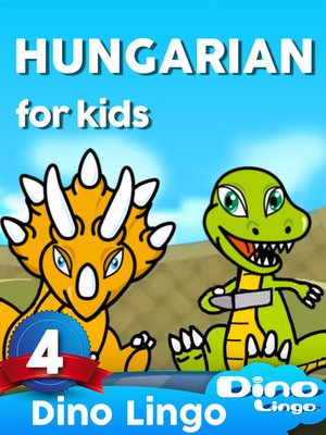 cover image of Hungarian for Kids, Lesson 4
