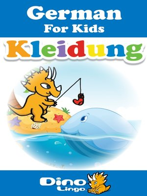 cover image of German for kids - Clothes storybook