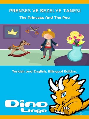 cover image of Prenses ve Bezelye Tanesi / The Princess And The Pea