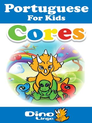 cover image of Portuguese for kids - Colors storybook