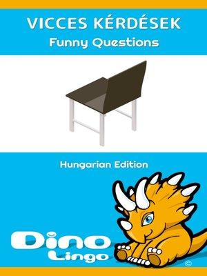 cover image of Vicces kérdések / Funny Questions