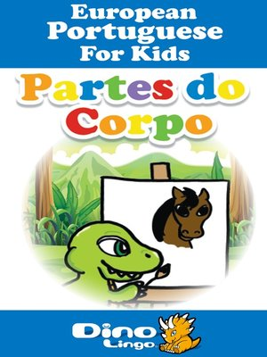 cover image of European Portuguese for kids - Body Parts storybook