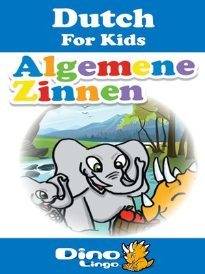 cover image of Dutch for kids - Phrases storybook
