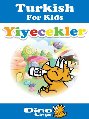cover image of Turkish for kids - Food storybook