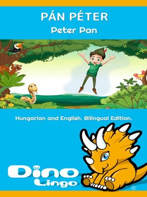 cover image of Pán Péter / Peter Pan