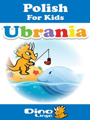 cover image of Polish for kids - Clothes storybook