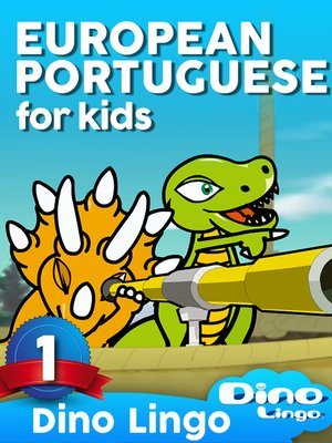 cover image of European Portuguese for Kids, Lesson 1