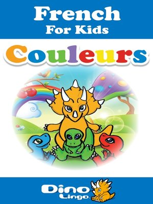 cover image of French for kids - Colors storybook