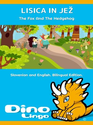 cover image of Lisica in jež / The Fox And The Hedgehog