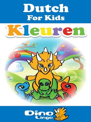 cover image of Dutch for kids - Colors storybook