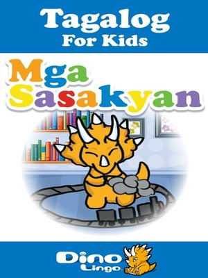 cover image of Tagalog for kids - Vehicles storybook