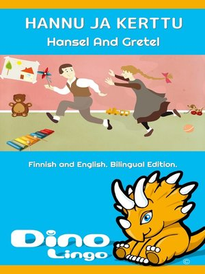 cover image of Hannu ja Kerttu / Hansel And Gretel