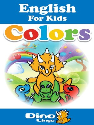 cover image of English for kids - Colors storybook