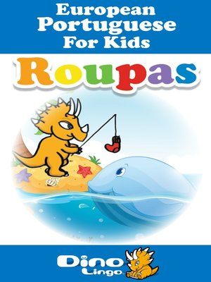 cover image of European Portuguese for kids - Clothes storybook