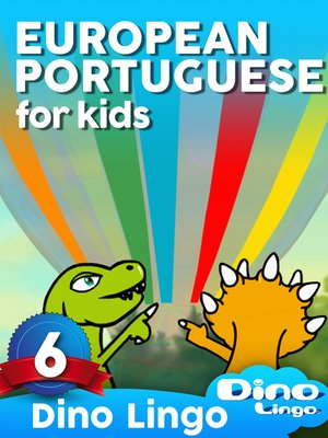 cover image of European Portuguese for Kids, Lesson 6
