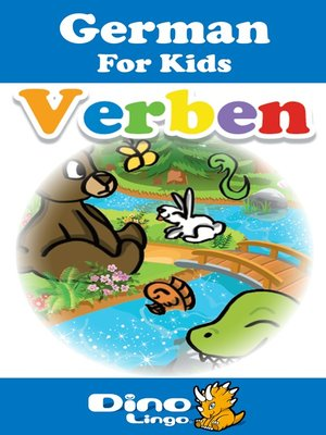 cover image of German for kids - Verbs storybook