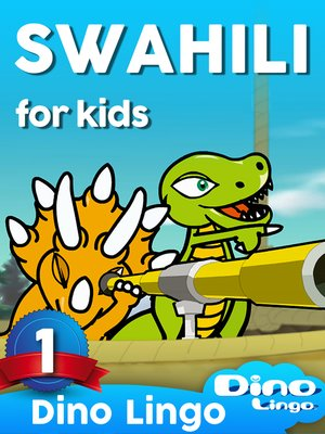 cover image of Swahili for Kids, Lesson 1