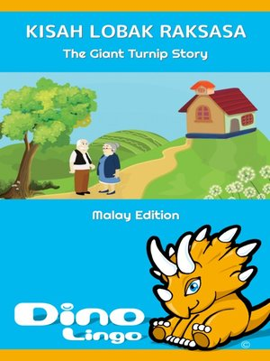 cover image of Kisah Lobak Raksasa / The Giant Turnip Story