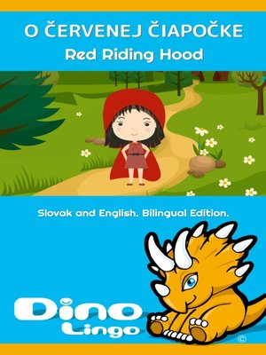 cover image of O Červenej čiapočke / Red Riding Hood